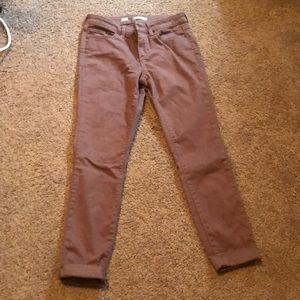 LC Lauren Conrad Cuffed Jeans